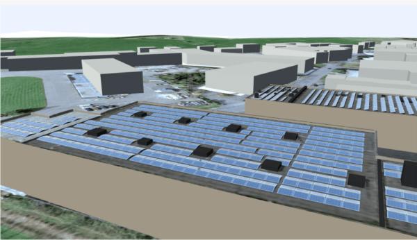 SL-Rack-SolarProTool3D-Ansicht