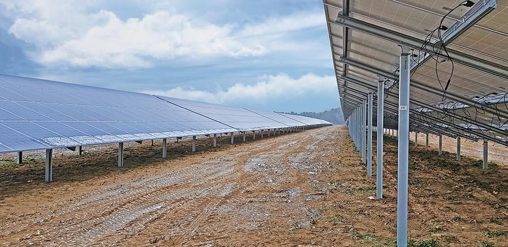 SL Rack Freiflächensystem - 4V | Standort: Nordrhein-Westfalen, Deutschland | Leistung: 749 kWp