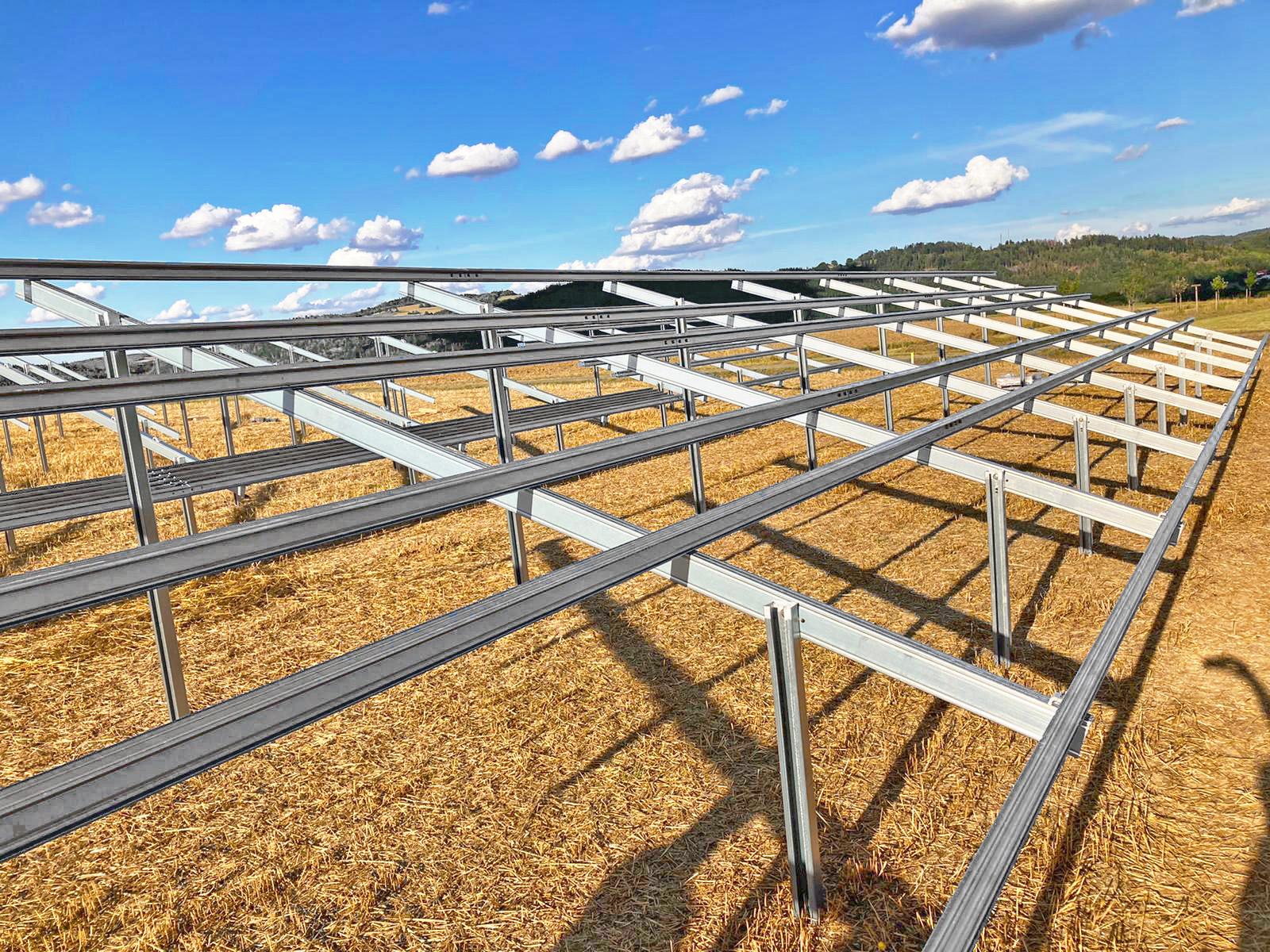SL Rack Freiflächensystem - 3V | Standort: Bayern, Deutschland | Leistung: 3,5 MWp
