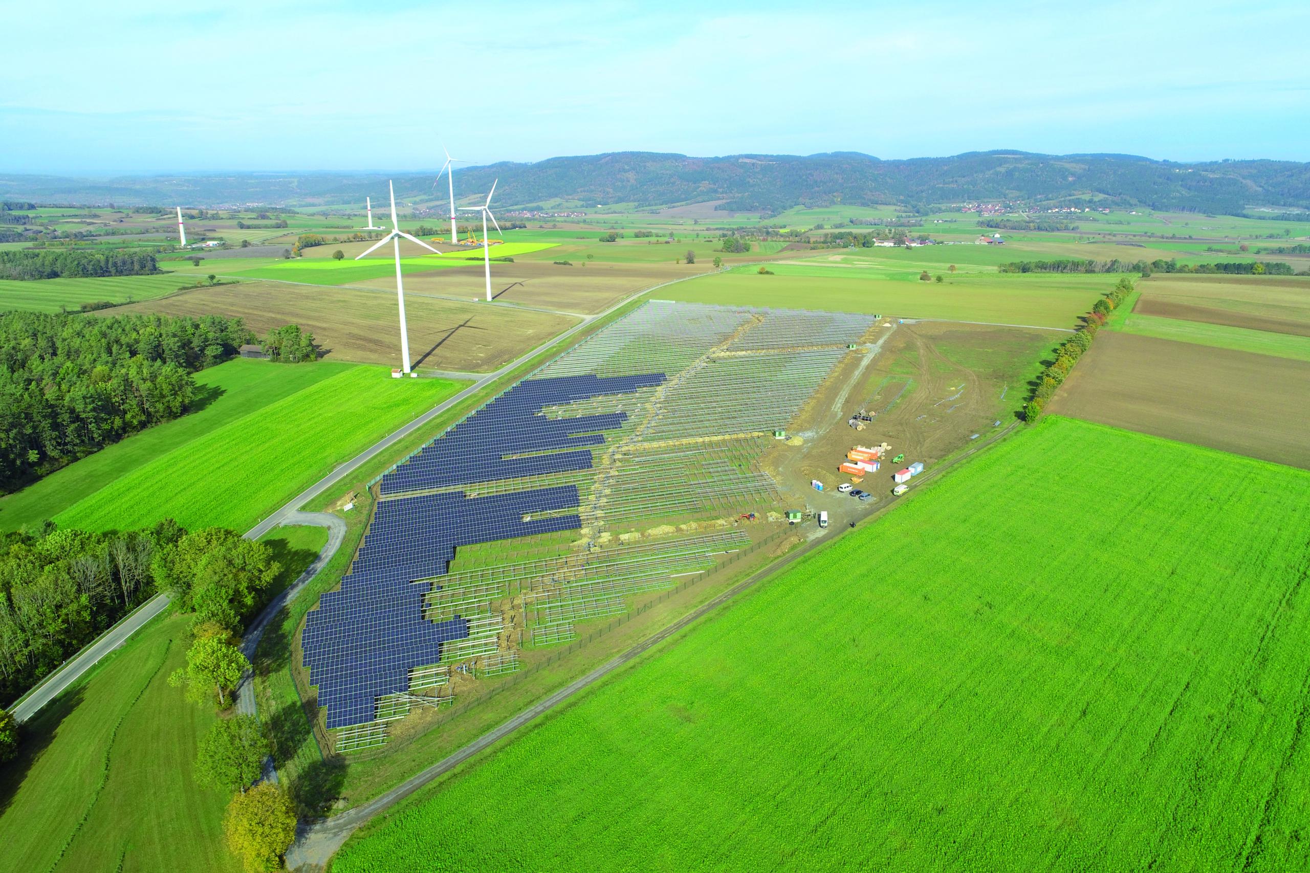 SL Rack Freiflächensystem - 3V | Standort: Bayern, Deutschland | Leistung: 9,5 MWp
