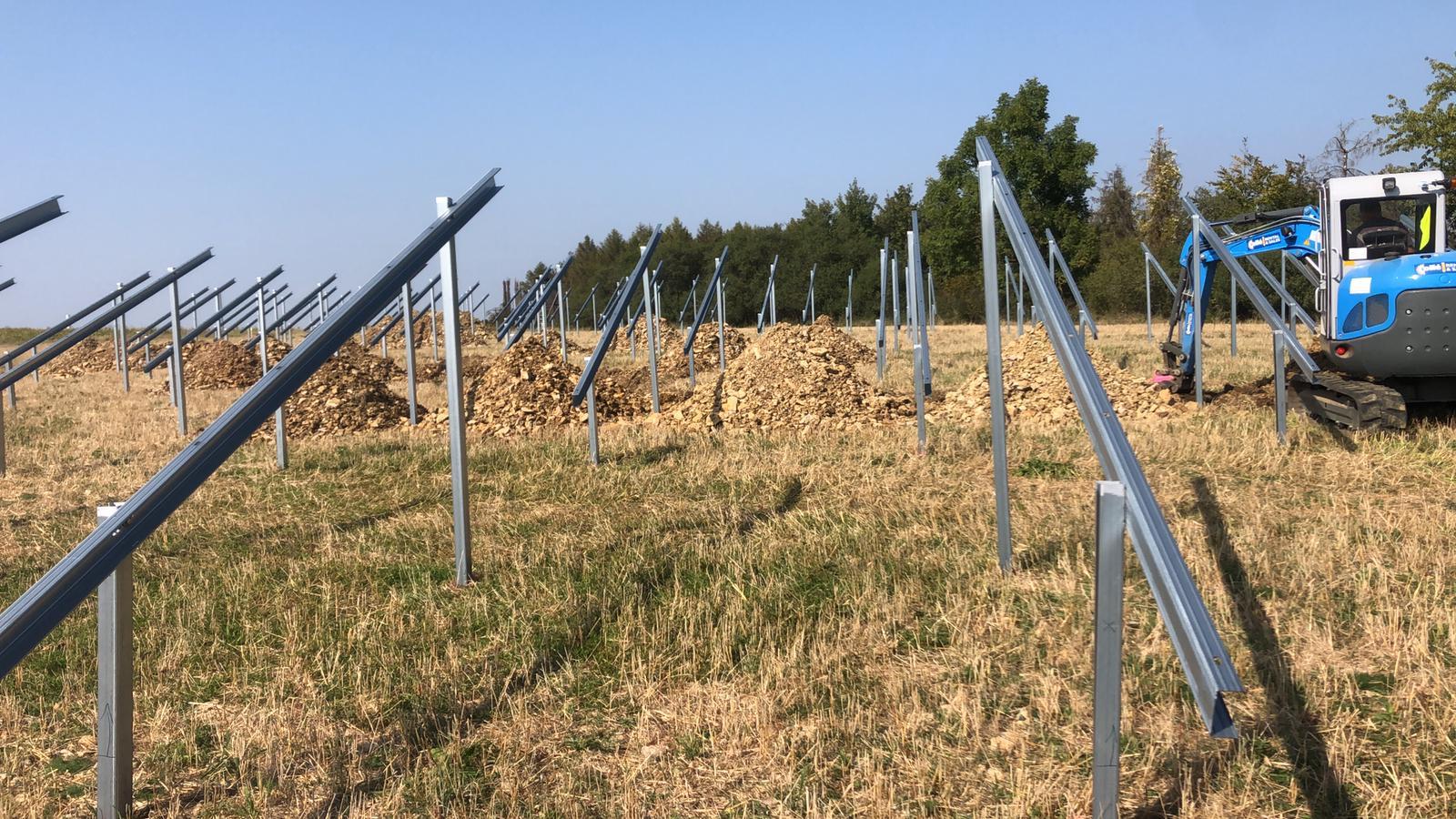 SL Rack Freiflächensystem - 3V | Standort: Bayern, Deutschland | Leistung: 9,9 MWp