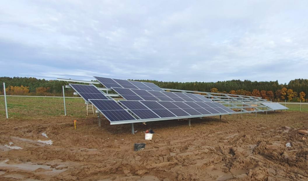 SL Rack Freiflächensystem - 3V | Standort: Bayern, Deutschland | Leistung: 750 kWp