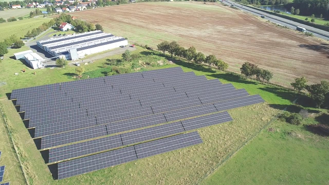 SL Rack Freiflächensystem - 3V + 4V | Standort: Thüringen, Deutschland | Leistung: 750 KWp