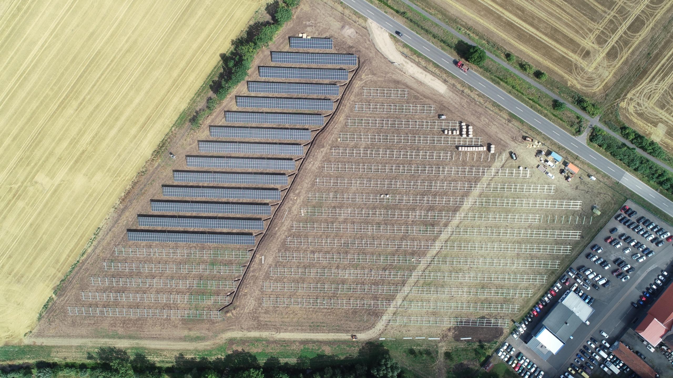 SL Rack Freiflächensystem - 3V | Standort: Thüringen, Deutschland | Leistung: 3 MWp