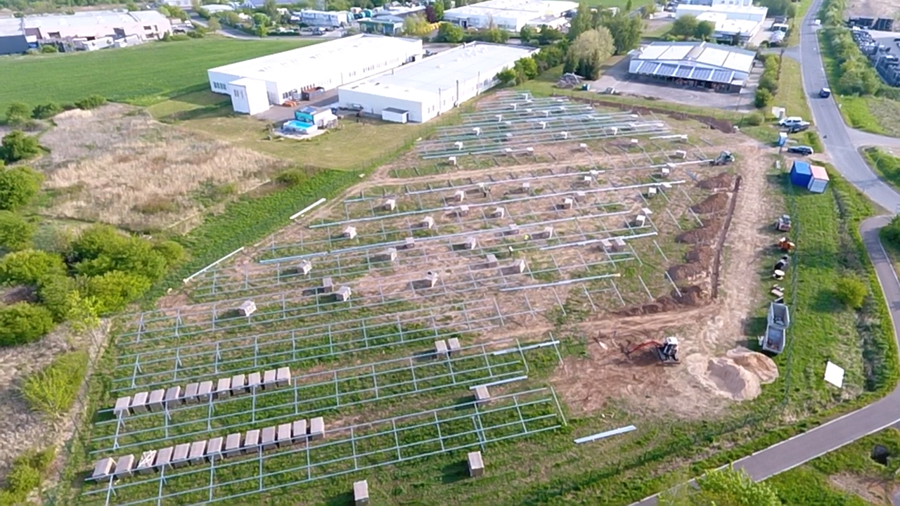 SL Rack Freiflächensystem - 3V | Standort: Thüringen, Deutschland | Leistung: 750 KWp