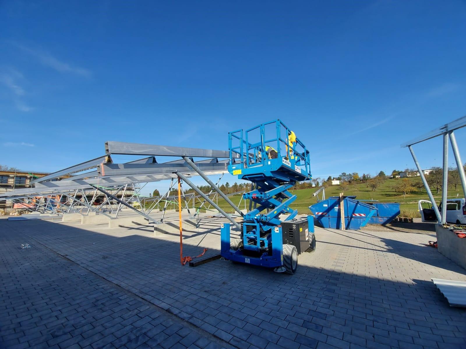 SL Rack Carportsystem C1R und C2R | Standort: Baden-Württemberg, Deutschland | Leistung: 270 KWp