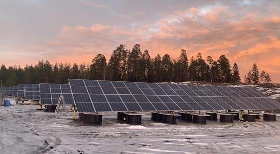 SL Rack Freiflächensystem - 2V | Standort: Uppsala, Schweden | Leistung: 120 kWp